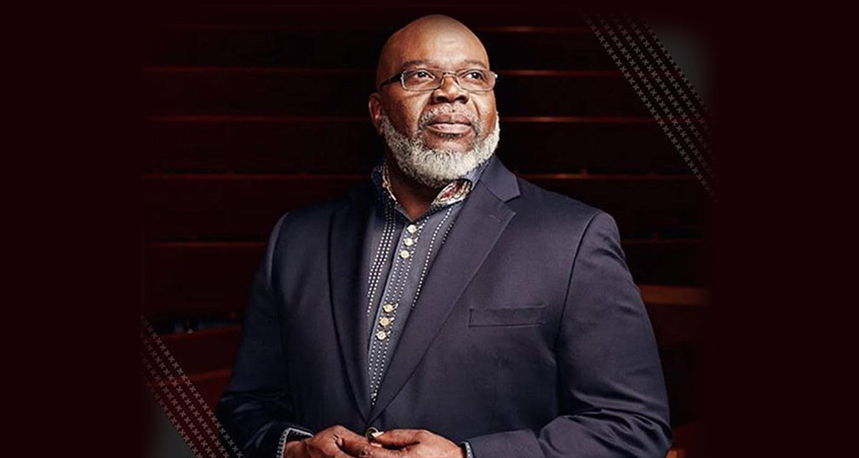 Bishop T  D Jakes speaks at Africa Business and Kingdom